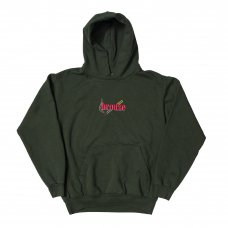 <img class='new_mark_img1' src='//img.shop-pro.jp/img/new/icons5.gif' style='border:none;display:inline;margin:0px;padding:0px;width:auto;' />EMBROIDERED SMOKE HOODY - DARK GREEN