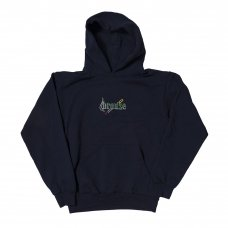 <img class='new_mark_img1' src='https://img.shop-pro.jp/img/new/icons5.gif' style='border:none;display:inline;margin:0px;padding:0px;width:auto;' />EMBROIDERED SMOKE HOODY - NAVY