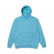 <img class='new_mark_img1' src='https://img.shop-pro.jp/img/new/icons5.gif' style='border:none;display:inline;margin:0px;padding:0px;width:auto;' />RUBBER LOGO HOODIE - LIGHT BLUE