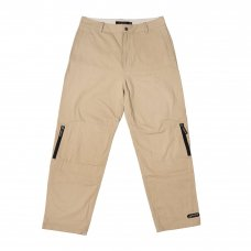 <img class='new_mark_img1' src='//img.shop-pro.jp/img/new/icons5.gif' style='border:none;display:inline;margin:0px;padding:0px;width:auto;' />ZIP TECH PANTS - STONE KHAKI