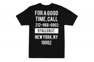 GOOD TIME TEE - BLACK