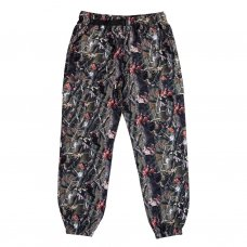 NERM & JERM TREE CAMO TRACK PANTS - MULTI