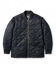 <img class='new_mark_img1' src='https://img.shop-pro.jp/img/new/icons5.gif' style='border:none;display:inline;margin:0px;padding:0px;width:auto;' />QUILTED WORK JACKET - BLACK