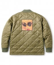 <img class='new_mark_img1' src='https://img.shop-pro.jp/img/new/icons20.gif' style='border:none;display:inline;margin:0px;padding:0px;width:auto;' />QUILTED WORK JACKET - KHAKI