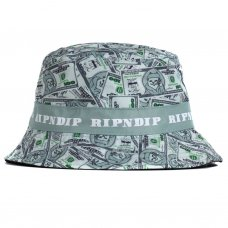 <img class='new_mark_img1' src='https://img.shop-pro.jp/img/new/icons5.gif' style='border:none;display:inline;margin:0px;padding:0px;width:auto;' />MONEY BAG REVERSIBLE BUCKET HAT - GREEN / BLACK