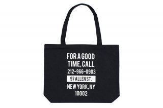 <img class='new_mark_img1' src='https://img.shop-pro.jp/img/new/icons5.gif' style='border:none;display:inline;margin:0px;padding:0px;width:auto;' />GOOD TIME TOTE BAG - BLACK