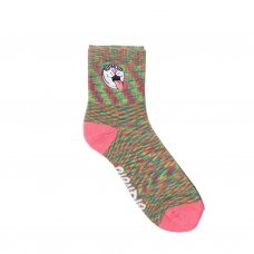 <img class='new_mark_img1' src='https://img.shop-pro.jp/img/new/icons5.gif' style='border:none;display:inline;margin:0px;padding:0px;width:auto;' />PILL MID SOCKS - PASTEL SPIRAL DYE