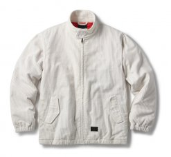 <img class='new_mark_img1' src='https://img.shop-pro.jp/img/new/icons20.gif' style='border:none;display:inline;margin:0px;padding:0px;width:auto;' />CORDUROY HARRINGTON JACKET - OFF WHITE