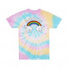 <img class='new_mark_img1' src='https://img.shop-pro.jp/img/new/icons5.gif' style='border:none;display:inline;margin:0px;padding:0px;width:auto;' />DOUBLE NERM RAINBOW TEE - PASTEL SPIRAL DYE