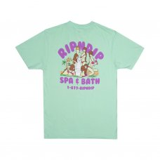 SPA DAY TEE - LIGHT MINT