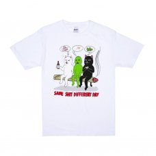 <img class='new_mark_img1' src='https://img.shop-pro.jp/img/new/icons5.gif' style='border:none;display:inline;margin:0px;padding:0px;width:auto;' />SAME DREAMS TEE - WHITE