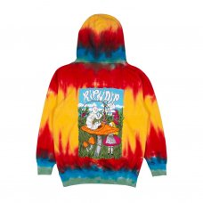 <img class='new_mark_img1' src='https://img.shop-pro.jp/img/new/icons5.gif' style='border:none;display:inline;margin:0px;padding:0px;width:auto;' />NERM IN WONDERLAND HOODIE - SUNBURST SPIRAL DYE