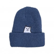 <img class='new_mark_img1' src='https://img.shop-pro.jp/img/new/icons5.gif' style='border:none;display:inline;margin:0px;padding:0px;width:auto;' />LORD NERMAL RIBBED BEANIE (BLUE)
