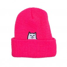 <img class='new_mark_img1' src='https://img.shop-pro.jp/img/new/icons5.gif' style='border:none;display:inline;margin:0px;padding:0px;width:auto;' />LORD NERMAL RIBBED BEANIE (FUCHSIA)