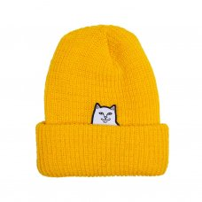 <img class='new_mark_img1' src='https://img.shop-pro.jp/img/new/icons5.gif' style='border:none;display:inline;margin:0px;padding:0px;width:auto;' />LORD NERMAL RIBBED BEANIE (GOLD)