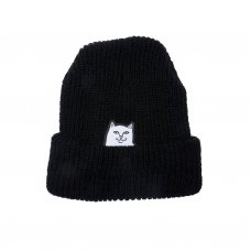 <img class='new_mark_img1' src='https://img.shop-pro.jp/img/new/icons5.gif' style='border:none;display:inline;margin:0px;padding:0px;width:auto;' />LORD NERMAL RIBBED BEANIE (BLACK)