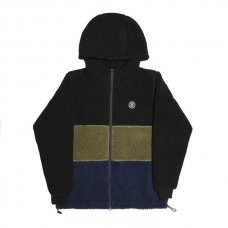<img class='new_mark_img1' src='https://img.shop-pro.jp/img/new/icons5.gif' style='border:none;display:inline;margin:0px;padding:0px;width:auto;' />COUSINS HOODED TOP - BLACK/GREEN/NAVY