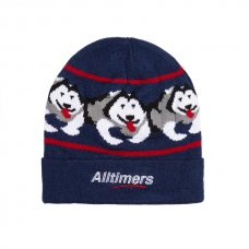 <img class='new_mark_img1' src='https://img.shop-pro.jp/img/new/icons5.gif' style='border:none;display:inline;margin:0px;padding:0px;width:auto;' />SNOW POP BEANIE - NAVY