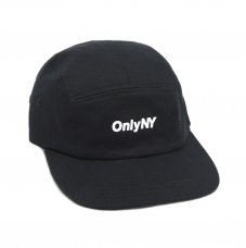 <img class='new_mark_img1' src='https://img.shop-pro.jp/img/new/icons5.gif' style='border:none;display:inline;margin:0px;padding:0px;width:auto;' />TWILL LOGO 5-PANEL HAT (BLACK)