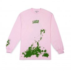 <img class='new_mark_img1' src='https://img.shop-pro.jp/img/new/icons5.gif' style='border:none;display:inline;margin:0px;padding:0px;width:auto;' />SPLATTER LONGSLEEVE TEE - PINK