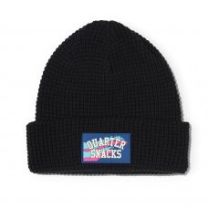 <img class='new_mark_img1' src='https://img.shop-pro.jp/img/new/icons47.gif' style='border:none;display:inline;margin:0px;padding:0px;width:auto;' />WAFFLE BEANIE - BLACK