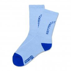 <img class='new_mark_img1' src='https://img.shop-pro.jp/img/new/icons47.gif' style='border:none;display:inline;margin:0px;padding:0px;width:auto;' />SYNDICATE SOCKS (LONG) - LIGHT BLUE