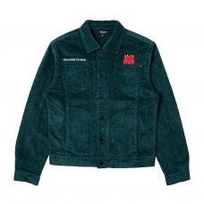 WELCOME TO HECK CORDUROY JACKET - HUNTER GREEN
