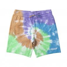 PEEKING NERM SWEAT SHORTS  - TIE DYE