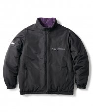 <img class='new_mark_img1' src='https://img.shop-pro.jp/img/new/icons20.gif' style='border:none;display:inline;margin:0px;padding:0px;width:auto;' />REVERSIBLE PUFFY JACKET - BLACK/PURPLE
