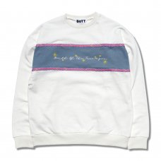 <img class='new_mark_img1' src='https://img.shop-pro.jp/img/new/icons47.gif' style='border:none;display:inline;margin:0px;padding:0px;width:auto;' />TAPING CREW NECK (WHITE)