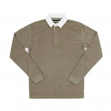 <img class='new_mark_img1' src='https://img.shop-pro.jp/img/new/icons5.gif' style='border:none;display:inline;margin:0px;padding:0px;width:auto;' />TERRY CLOTH POLO L/S SHIRT (SAGE)