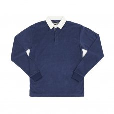 <img class='new_mark_img1' src='https://img.shop-pro.jp/img/new/icons5.gif' style='border:none;display:inline;margin:0px;padding:0px;width:auto;' />TERRY CLOTH POLO L/S SHIRT (NAVY)