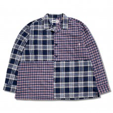 <img class='new_mark_img1' src='https://img.shop-pro.jp/img/new/icons5.gif' style='border:none;display:inline;margin:0px;padding:0px;width:auto;' />BOX FLANNEL SHIRT (BLUE)