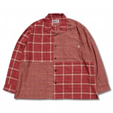 <img class='new_mark_img1' src='https://img.shop-pro.jp/img/new/icons5.gif' style='border:none;display:inline;margin:0px;padding:0px;width:auto;' />BOX FLANNEL SHIRT (RED)