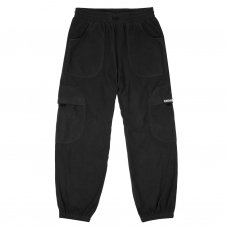 <img class='new_mark_img1' src='https://img.shop-pro.jp/img/new/icons5.gif' style='border:none;display:inline;margin:0px;padding:0px;width:auto;' />FLEECE ROUND CARGO PANTS - BLACK
