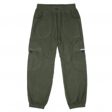 <img class='new_mark_img1' src='https://img.shop-pro.jp/img/new/icons5.gif' style='border:none;display:inline;margin:0px;padding:0px;width:auto;' />FLEECE ROUND CARGO PANTS - OLIVE