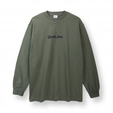 <img class='new_mark_img1' src='https://img.shop-pro.jp/img/new/icons5.gif' style='border:none;display:inline;margin:0px;padding:0px;width:auto;' />OG LOGO L/S TEE - MILITARY GREEN