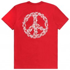 PEACE OF CANDY TEE - RED
