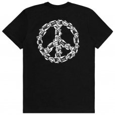 PEACE OF CANDY TEE - BLACK