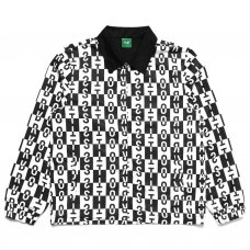 <img class='new_mark_img1' src='https://img.shop-pro.jp/img/new/icons20.gif' style='border:none;display:inline;margin:0px;padding:0px;width:auto;' />CARROTS BLOCK COACHES JACKET - BLACK/WHITE