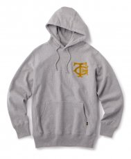 <img class='new_mark_img1' src='https://img.shop-pro.jp/img/new/icons5.gif' style='border:none;display:inline;margin:0px;padding:0px;width:auto;' />FTC × TG EMBROIDERY LOGO HOODY  - GRAY