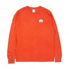 LORD NERMAL POCKET L/S - TEXAS ORANGE