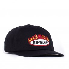 WELCOME TO HECK STRAPBACK - BLACK