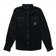 <img class='new_mark_img1' src='https://img.shop-pro.jp/img/new/icons5.gif' style='border:none;display:inline;margin:0px;padding:0px;width:auto;' />WOODSIDE CORDUROY OVERSHIRT - BLACK