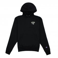<img class='new_mark_img1' src='https://img.shop-pro.jp/img/new/icons5.gif' style='border:none;display:inline;margin:0px;padding:0px;width:auto;' />QUEENS REVERSE WEAVE CHAMPION HOODY - BLACK