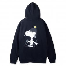 LITTLE DOGGY HOODIE - BLACK