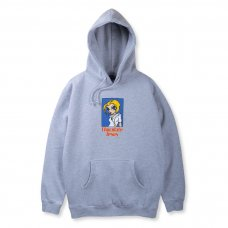 FRANK GIRL HOODIE - HEATHER GREY