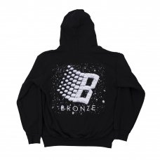 <img class='new_mark_img1' src='https://img.shop-pro.jp/img/new/icons5.gif' style='border:none;display:inline;margin:0px;padding:0px;width:auto;' />LOGO SNOW HOODY - BLACK