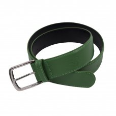 <img class='new_mark_img1' src='https://img.shop-pro.jp/img/new/icons5.gif' style='border:none;display:inline;margin:0px;padding:0px;width:auto;' />LOGO LEATHER BELT - GREEN