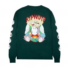 SPIRITED AWAY L/S - HUNTER GREEN
